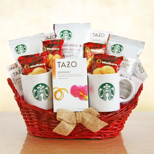 Starbucks Gift Basket For a Special Person