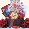 True Love: Valentine Gourmet Sugar Free Gift Basket