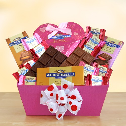 Sweet Ghirardelli Inspirations Gift Basket