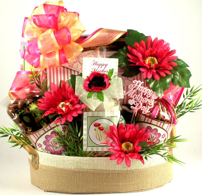 Spa and Sweet Treats For Mom Basket