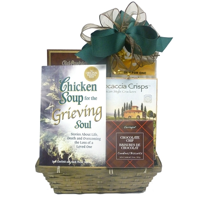 Chicken Soup For The Soul Sympathy Gift Basket