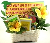 Taste Of Florida: Sunny Days Beach Gift Basket