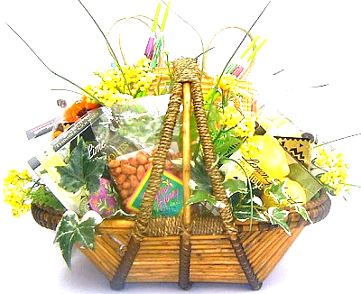 Taste of Gourmet: Tropical Gift Basket