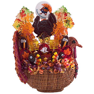 Thanksgiving Candy Bouquet Gift Basket