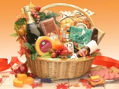 Thanksgiving Grand Gourmet Gift Basket