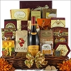 Bountiful Blessings: Thanksgiving Gourmet Wine Gift Basket