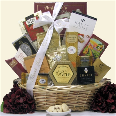 Thanks! Gourmet Thank You Gift Basket