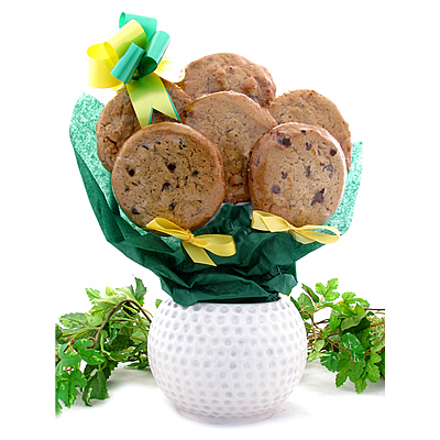Thank You Golfers Paradise Cookie Gift Bouquet