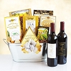 The Classic Gourmet and Wine Gift Basket