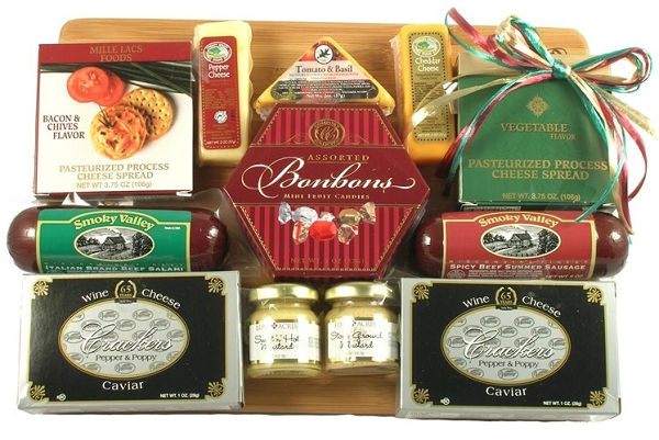 The Executive Gourmet Cheese and Sausage Gift
