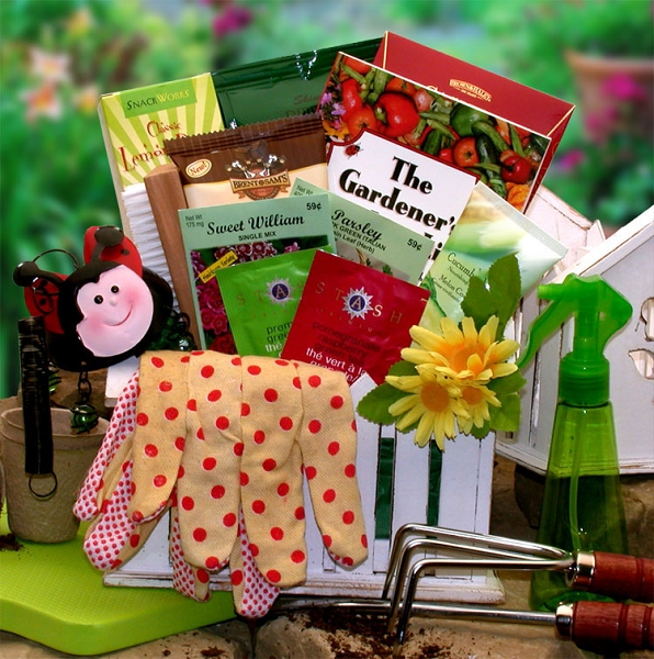 The Gardener: Gardening Gift Basket