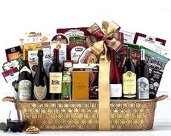 The Grandeur Wine and Champagne Collection Gift Basket