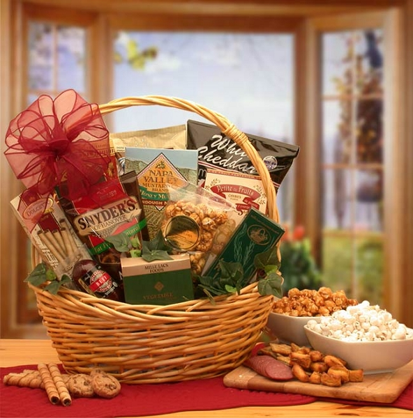 The Grand Snack Attack Gift Basket