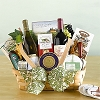 Toast The Season: Deluxe Gourmet & Wine Gift Basket