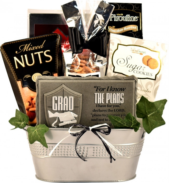 Top Of The Class: Graduation Gift Basket