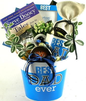 To The Best Dad: Gift Basket For Fathers