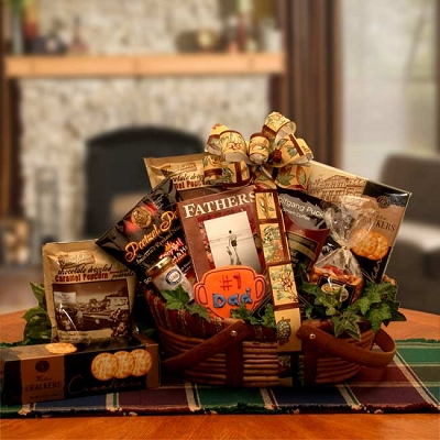 To The Greatest Dad: Father's Day Gift Basket