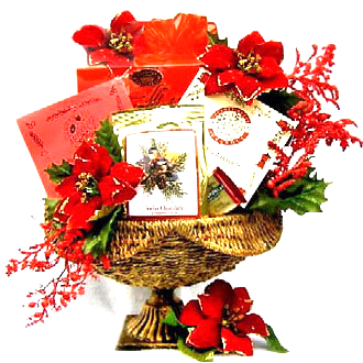 Touch Of Class: Holiday Christmas Gift Basket
