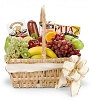 Traditional Gourmet Fruit Basket: Same Day Delivery