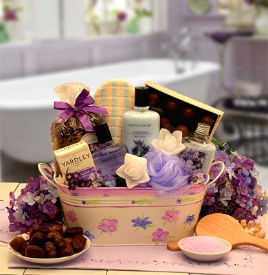 Tranquility Bath & Body Spa Gift Basket