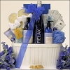 Trendy Spa  & Wine Gift Basket