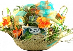 Tropical Flair:Tropical Gift Basket