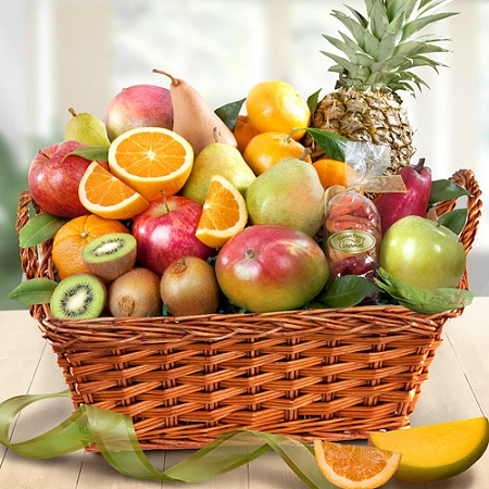 Tropical Paradise Fruit Basket