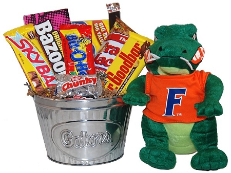 University Of Florida Gators Snack Gift Basket