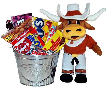 University Of Texas Longhorns Snack Gift Basket