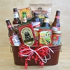Beer for My Valentine: Snacks & Beer Gift Basket