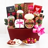 Chocolate & Spa Gift Basket