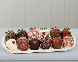 Dozen Valentine's day Chocolate Dipped Strawberries