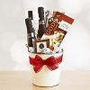 Valentine's Day Chocolate and Wine Basket
