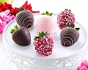 Valentine's  Day Dipped Strawberry (half dozen)