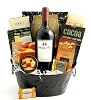 Valentine's Day Pinot Noir Wine & Chocolate Gift Basket