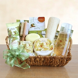 Vanilla Orchid Sensation Spa Gift Basket