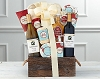 Wine Duet Vanilla & Cranberry Spa Gift Basket
