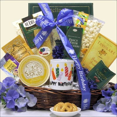 Warmest Wishes Birthday Gift Basket
