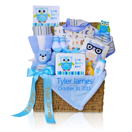 Welcome Baby Boy Gift Hamper