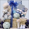 Welcome Baby Boy: Baby Gift Basket