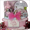 Welcome Baby Girl: Baby Gift Basket