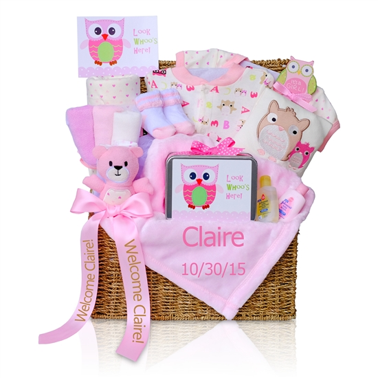 Welcome Baby Girl Gift Hamper