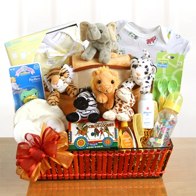 Welcome Baby With Love & Smiles: Baby Gift Basket
