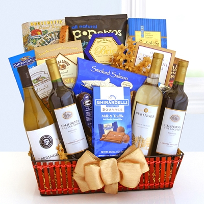 Wine Celebrations: Luxurious Wine Gift Basket