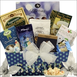 Winter Wonderland: Gourmet Christmas Gift Basket