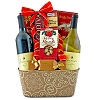 Yuletide Celebration Wine Duo Gift Basket