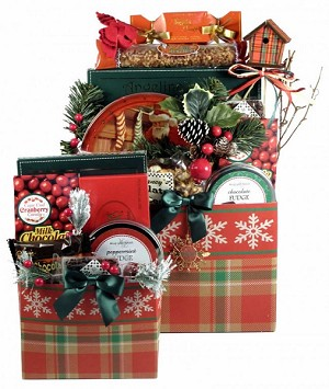 Berry Merry Christmas: Holiday Christmas Gift Basket