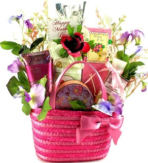 Beautiful Lady: Gift Basket For Her