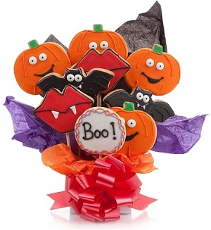 Boo! Halloween Cookie Bouquet