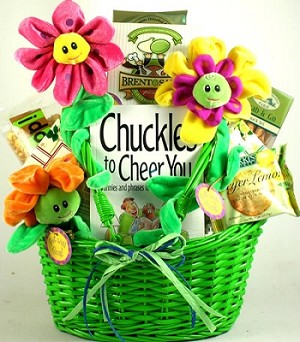 Cheerful Gift Basket To Cheer You